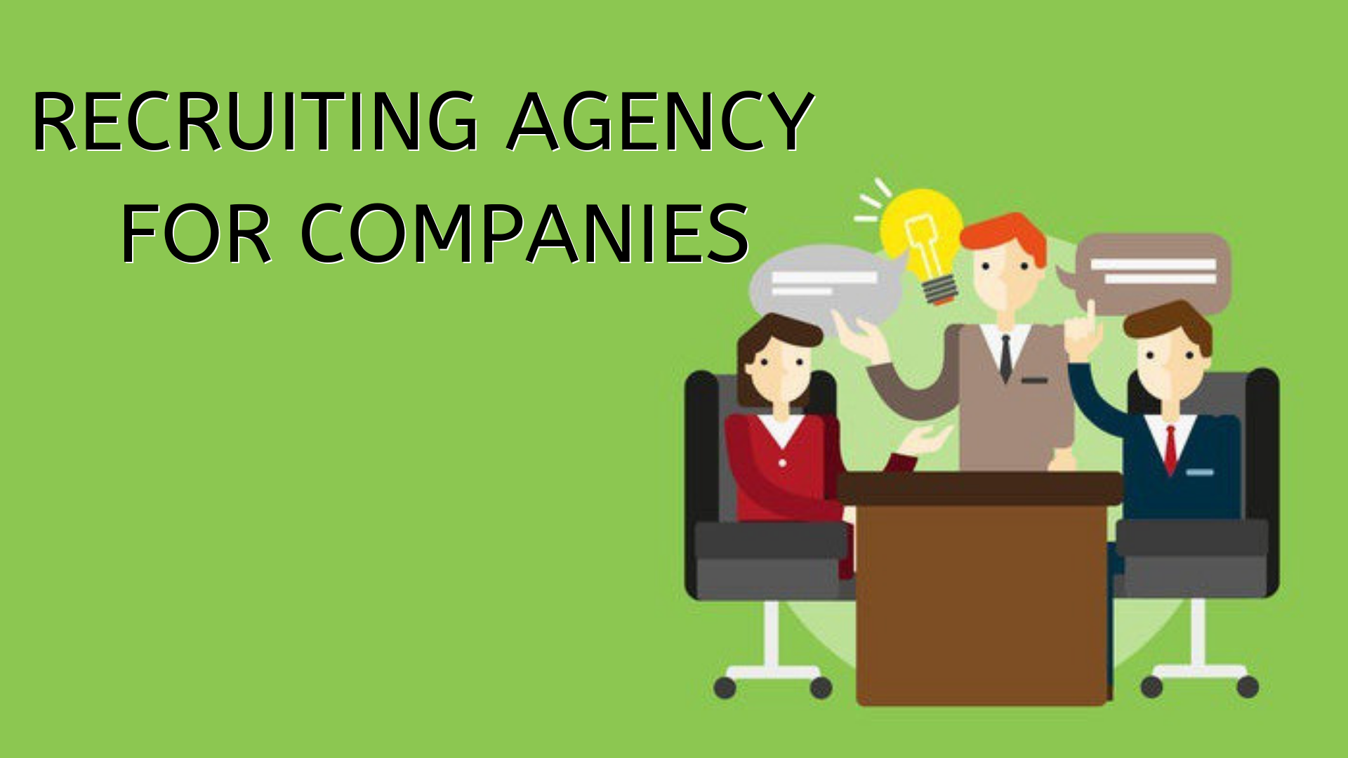 Recruiting agency for companies in India